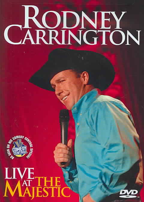 LIVE AT THE MAJESTIC BY CARRINGTON,RODNEY (DVD)