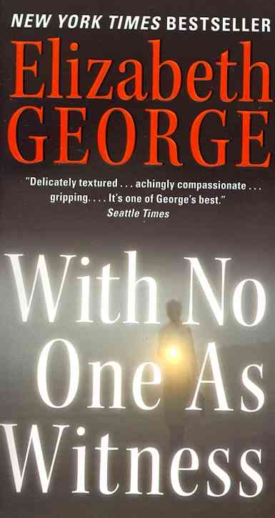 With No One As Witness By George, Elizabeth